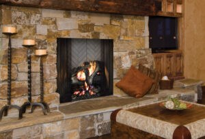factory made wood fireplace - Louisville KY - olde towne chimney and fireplace