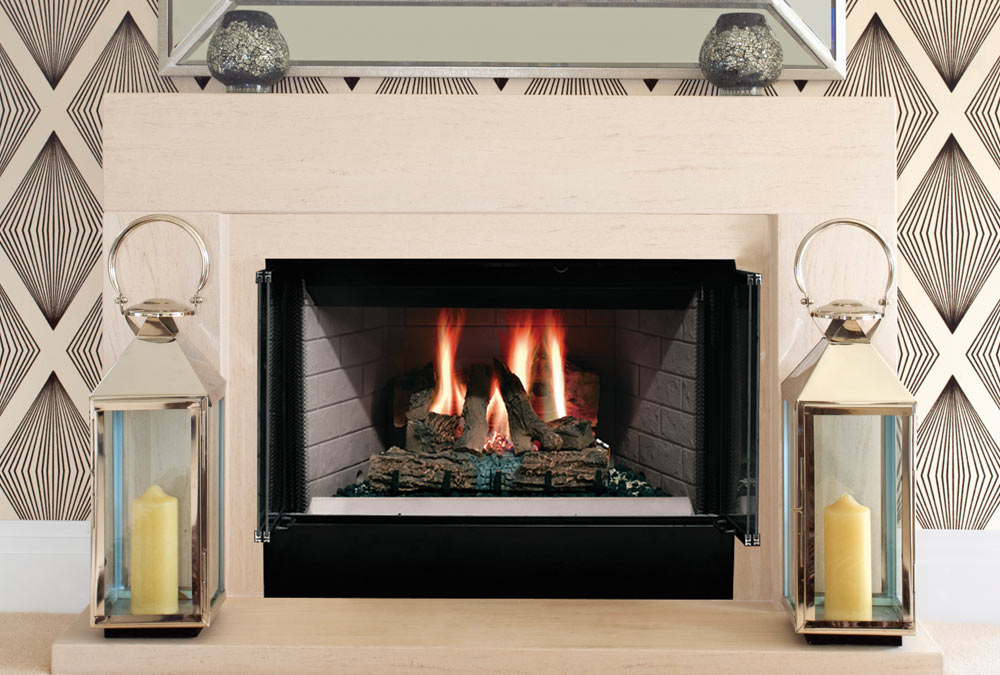 Manufactured Wood Fireplaces - Louisville KY - Olde Towne