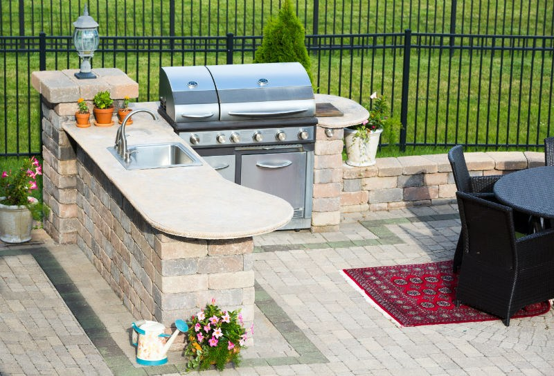 Outdoor Grill Selber Bauen : New Gas Grill For Spring  Louisville KY  Olde Towne Chimney